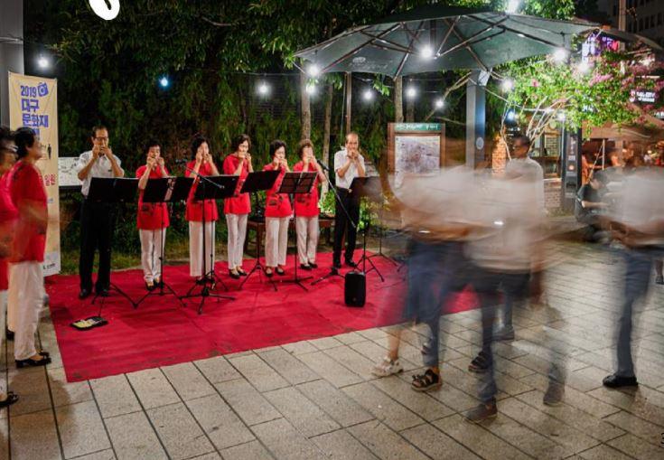 근대를 노래하는 시민공연단 사진